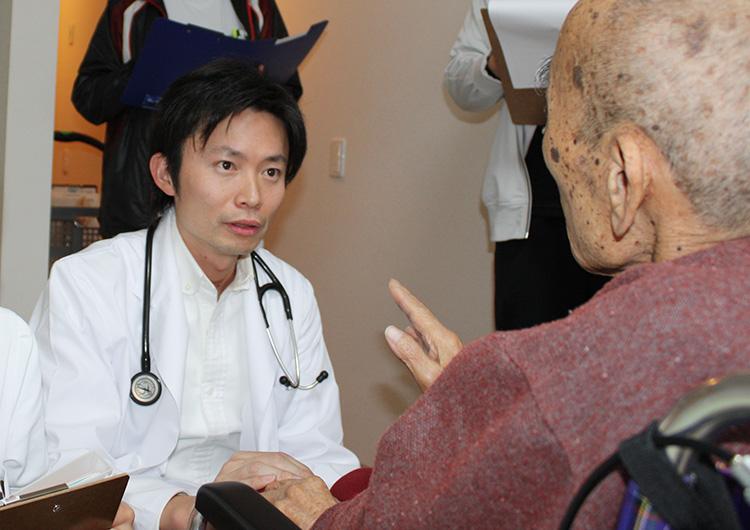 当医院は強化型在宅療養支援診療所として在宅医療サービスを実施しています。